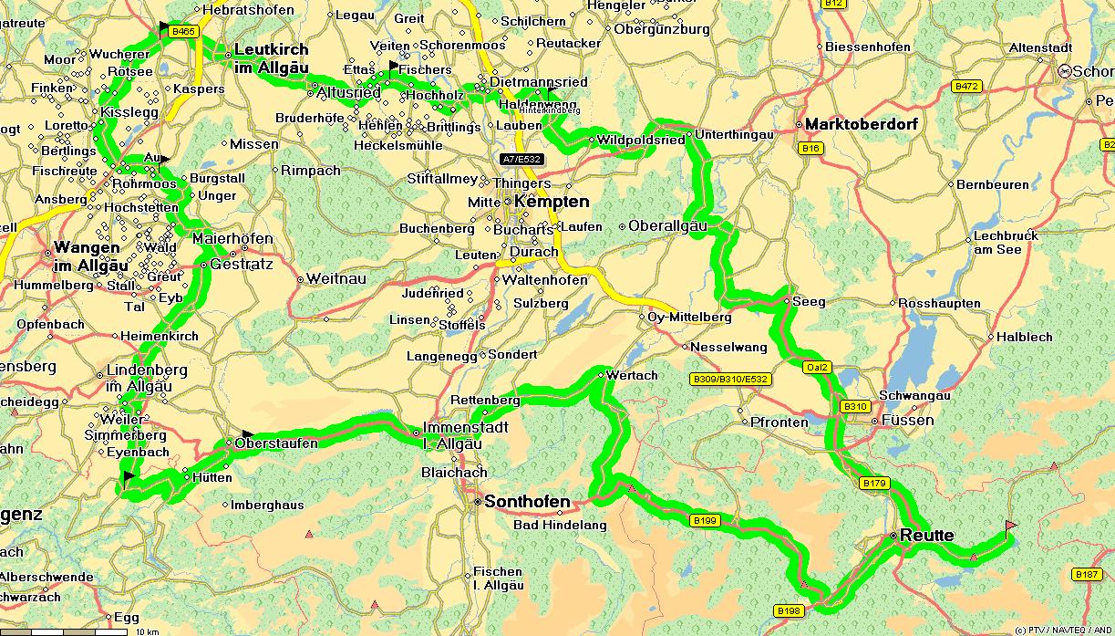 oberstaufen karte Landkarte Oberstaufen | Deutschland Karte
